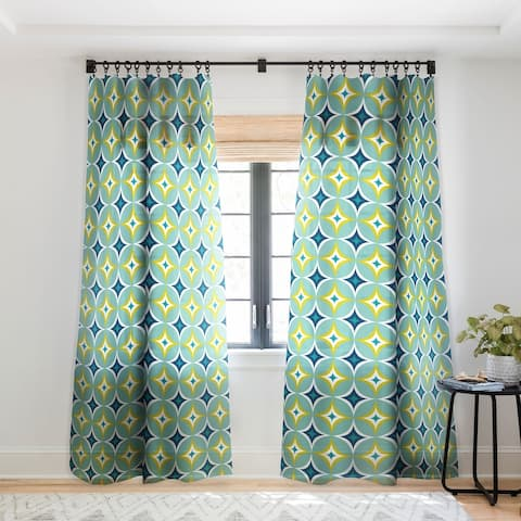 Heather Dutton Astral Slingshot Single Panel Sheer Curtain - 50 x 84