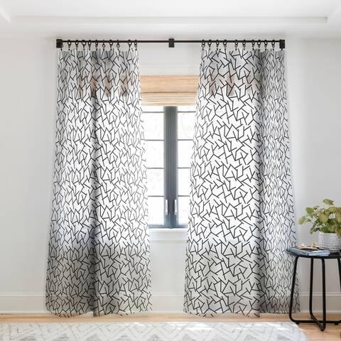 Holli Zollinger Haystack Single Panel Sheer Curtain - 50 x 84