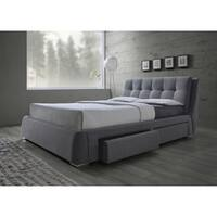 Fenbrook Transitional Grey Bed