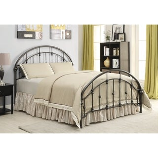 Maywood Transitional Dark Bronze Metal Bed