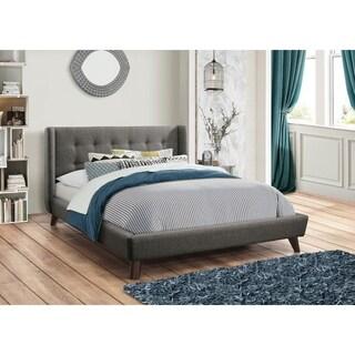 Carrington Grey Upholstered Bed