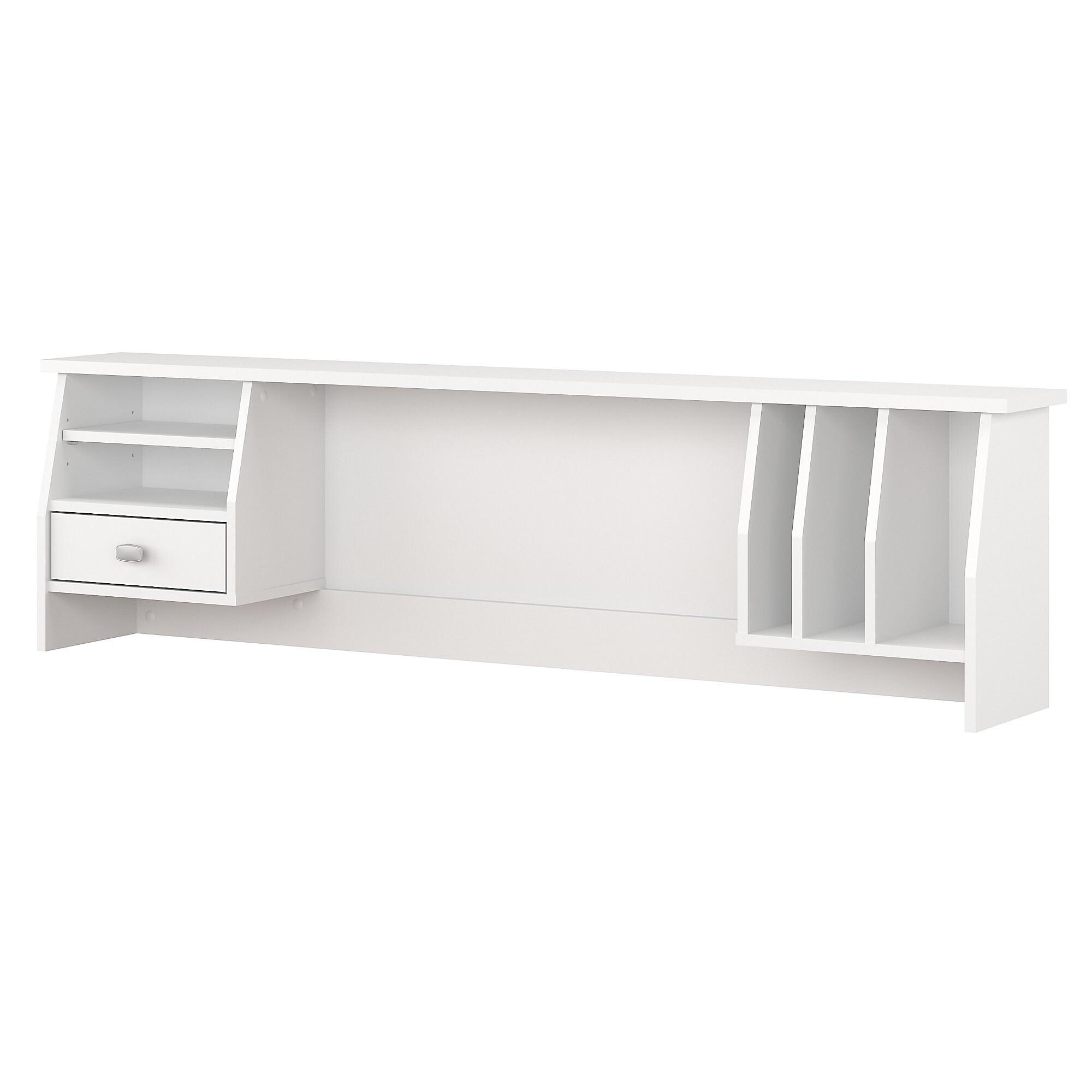"Copper Grove Rustavi 32-inch White Small Hutch Organizer (Pairs with  32-inch Desks NOT Included) - 32.32""L x 32.32""W x 32.32""H"