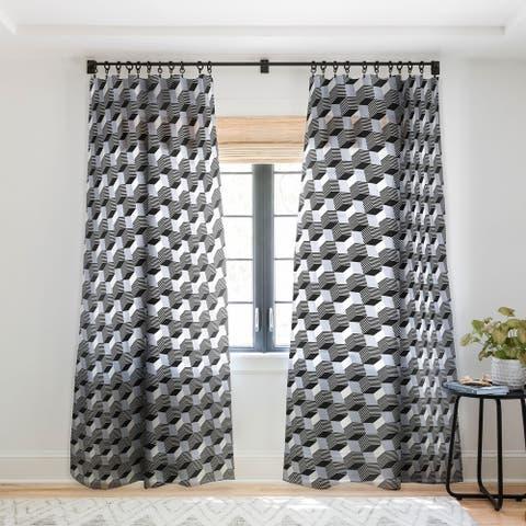 Gabriela Fuente Kassar Single Panel Sheer Curtain - 50 x 84