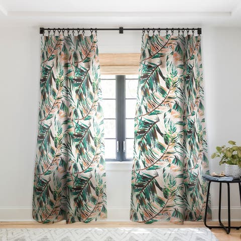 "Deny Designs Tropical Sheer Single Curtain Panel-50""x84"" - 50 x 84"