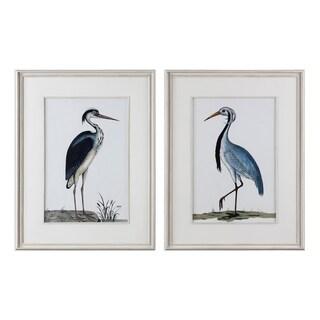 Uttermost Shore Birds Framed Prints (Set of 2) - White