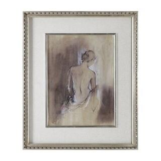 Uttermost Contemporary Draped Figure Feminine Art - Multi-color