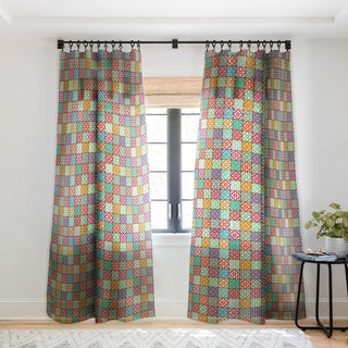 Sharon Turner Marrakech Single Panel Sheer Curtain