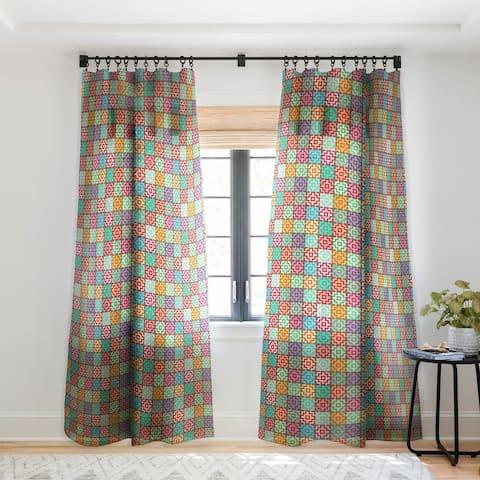 Sharon Turner Marrakech Single Panel Sheer Curtain - 50 x 84