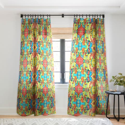 Rosie Brown Easter Candy Single Panel Sheer Curtain - 50 x 84