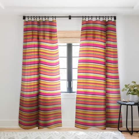 Caroline Okun Adrift Single Panel Sheer Curtain - 50 x 84