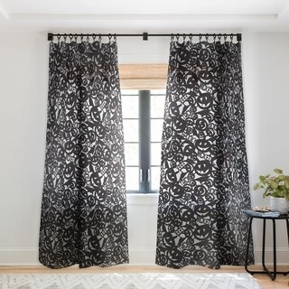 Heather Dutton Something Wicked Single Panel Sheer Curtain - 50 x 84
