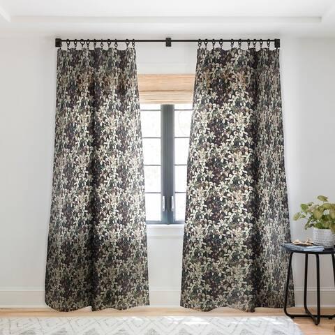 CayenaBlanca Herbolarium Single Panel Sheer Curtain - 50 x 84