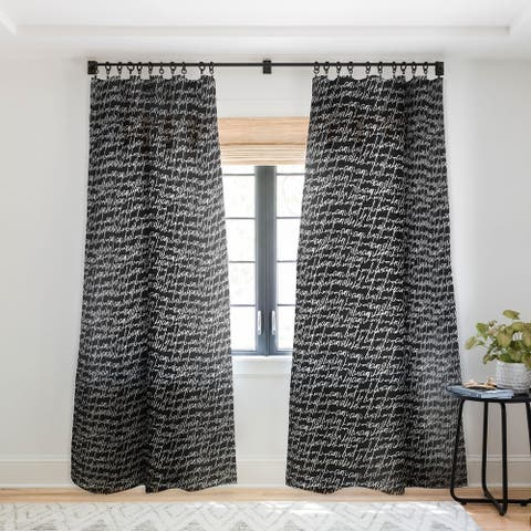 Gabriela Fuente Secrets Single Panel Sheer Curtain - 50 X 84