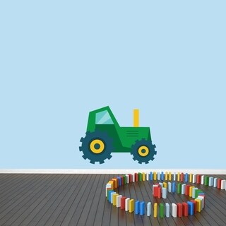 Tractor Printed Wall Decal (3 options available)