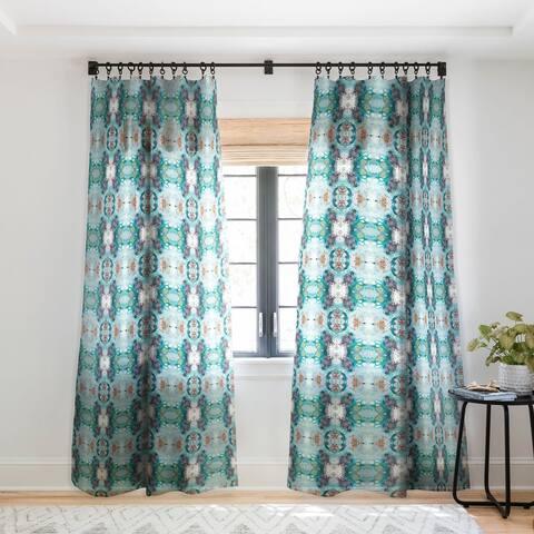 Crystal Schrader Cenote Single Panel Sheer Curtain - 50 x 84