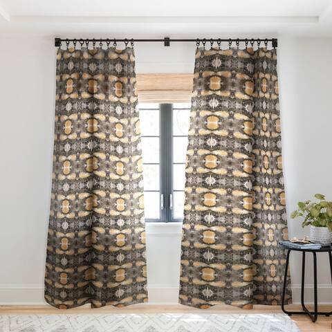 Viviana Gonzalez Watercolor Love 4 Single Panel Sheer Curtain - 50 X 84