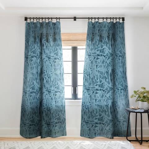 Mareike Boehmer Scandinavian Elegance Cord 1 Single Panel Sheer Curtain - 50 x 84