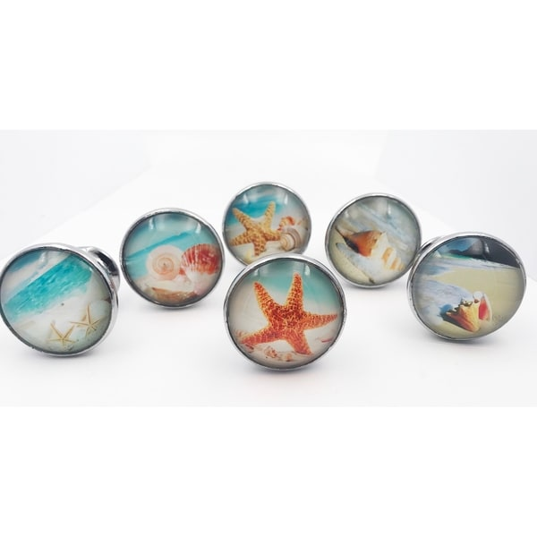 Shop Tropical Beach Starfish Drawer Pulls Cabinet Knobs