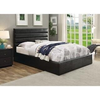 Riverbend Casual Black Storage Bed