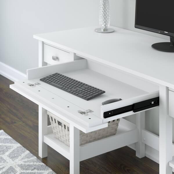 Shop Copper Grove Rustavi 60W Desk with Storage Shelves and ...