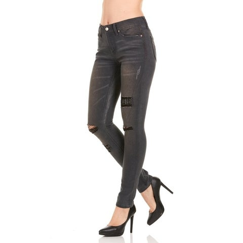 Red Jeans Slim Fit Women's Denim Jeans