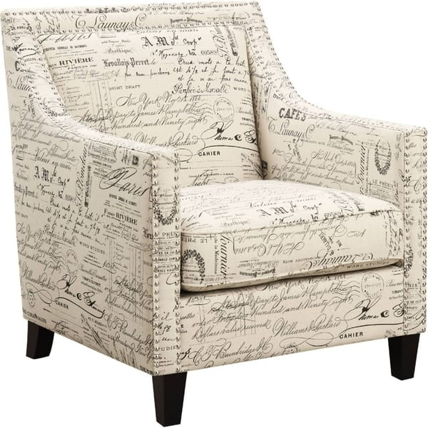 Admirable Bridgehampton Accent Chair With Nailhead Trim In French Script Creativecarmelina Interior Chair Design Creativecarmelinacom