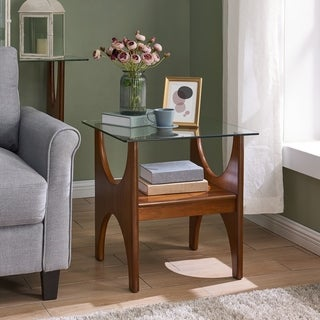 Link to Carson Carrington Esbo Dark Sienna End Table Similar Items in Living Room Furniture