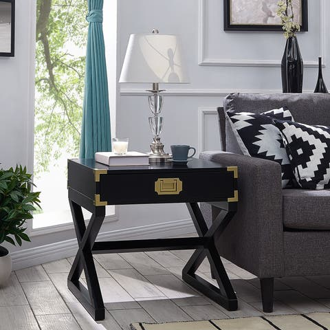 The Curated Nomad Goulet Black End Table