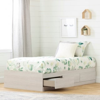 "South Shore Fynn Twin Mates Bed (39"") with 3 Drawers"