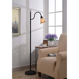 Design Craft Lincoln Blackened Oil Rubbed Bronze Floor Lamp (As Is Item)