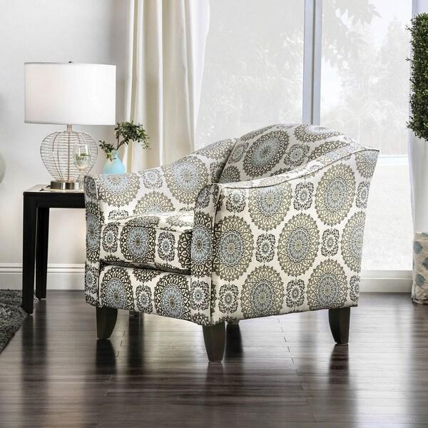 Shop Furniture Of America Nia Transitional Multi Color