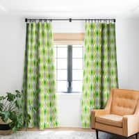 Heather Dutton Abacus Emerald Blackout Curtain Panel