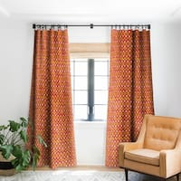 Sharon Turner Party Boardwalk Ikat Blackout Curtain Panel