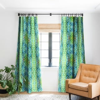Rosie Brown Dots And Dots Blackout Curtain Panel - 50 X 84