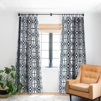 Heather Dutton Metro Steel Blackout Curtain Panel - 50 X 84