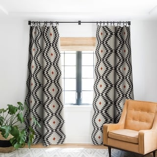 Holli Zollinger Native Natural Plus Blackout Curtain Panel