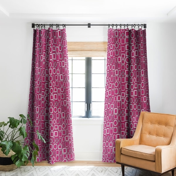 169f52918a22 Shop Sharon Turner Picture Frames Fuchsia Blackout Curtain Panel - Free  Shipping Today - Overstock - 22046384