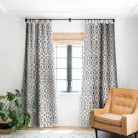 Holli Zollinger Geo Mudcloth Blackout Curtain Panel - 50 X 84
