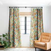 Sharon Turner Varsha Ikat Blackout Curtain Panel