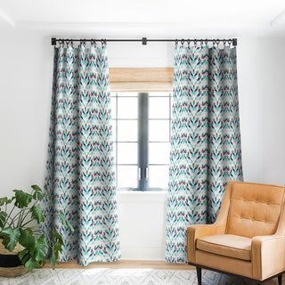 Link to Holli Zollinger Malibu Ikat Blackout Curtain Panel Similar Items in Curtains & Drapes
