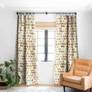 Link to Florent Bodart Keziah Flowers Blackout Curtain Panel Similar Items in Curtains & Drapes