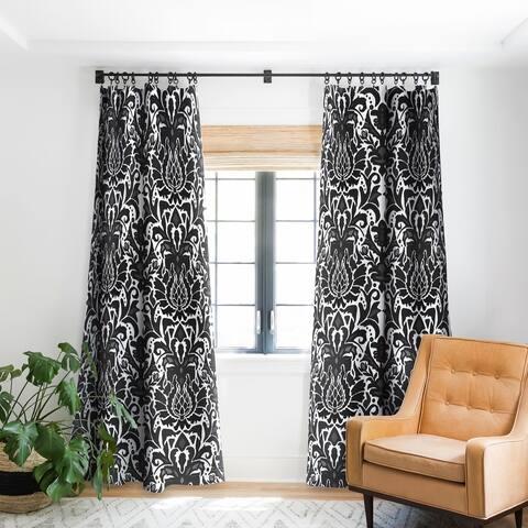 Sharon Turner Aya damask Blackout Curtain Panel