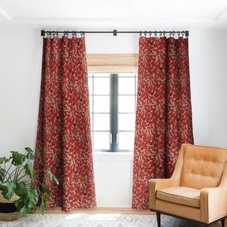 Link to Sharon Turner Cat Party Retro Blackout Curtain Panel Similar Items in Window Treatments