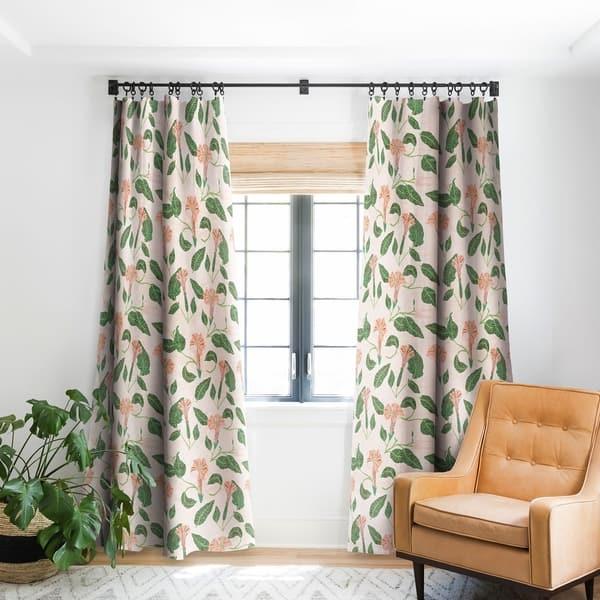 Holli Zollinger Desert Moonflower Blackout Curtain Panel