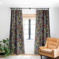 Sharon Turner Mandala Festival Stripe Blackout Curtain Panel
