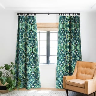 Link to Marta Barragan Camarasa Tropical Leaf On Ornamental Pattern Blackout Curtain Panel (As Is Item) Similar Items in As Is