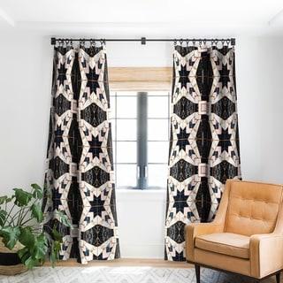 Link to Marta Barragan Camarasa Mosaic Pattern Geometric Marbled II Blackout Curtain Panel Similar Items in Window Treatments