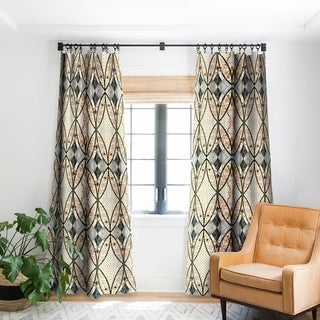 Marta Barragan Camarasa Pattern Mosaic Art Deco I Blackout Curtain Panel 96 Inches (As Is Item)
