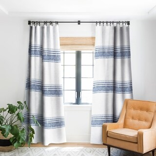 Holli Zollinger French Chambray Tassel Blackout Curtain Panel - 50 X 84