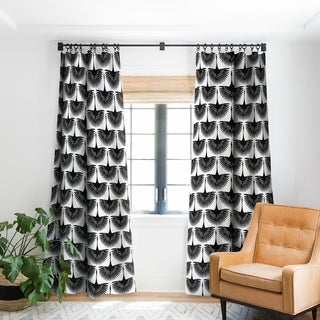 Caroline Okun Majestic Crane Blackout Curtain Panel